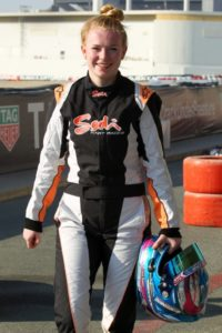 Final testing session over, Logan will soon be heading back to Scotland in the UK to continue her racing