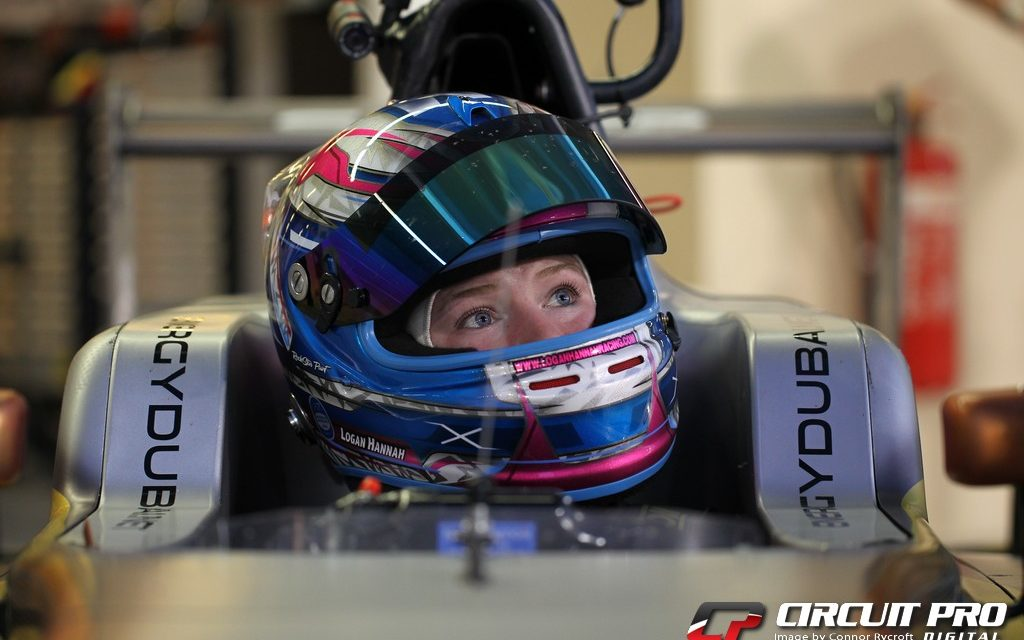 F4 UAE: Logan Hannah makes her debut in F4 test at Yas Marina Circuit