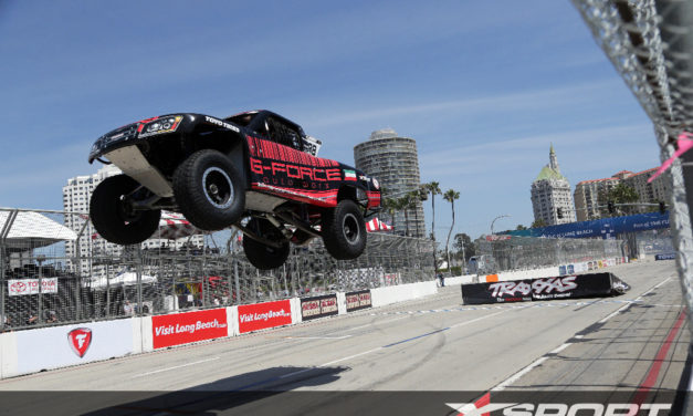 USA: Fearless race ace Khaled Al Mudhaf debuts in Stadium Super Trucks at Long Beach