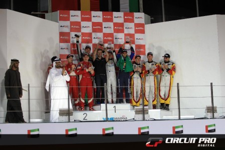 Pro-Am Class podium