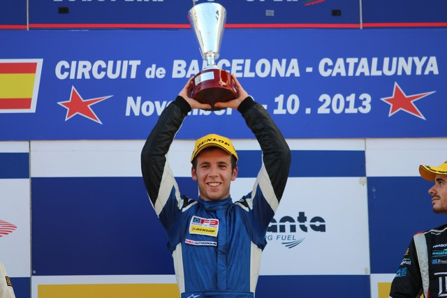 F3: Dubai's Ed Jones signs with Carlin for 2014 Euro F3 assault