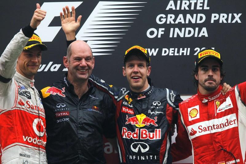 F1: Vettel triumphant at inaugural New Delhi Grand Prix