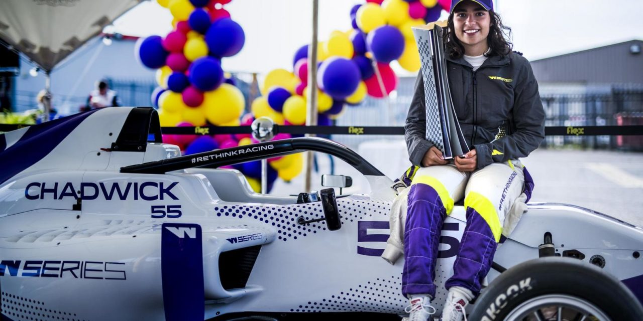 F3: British driver Jamie Chadwick wins inaugural 2019 WSeries Championship at thrilling Brands Hatch finale