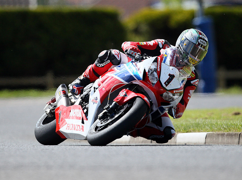 Bikes: Challenging NW200 meeting for Honda Racing rider John McGuinness