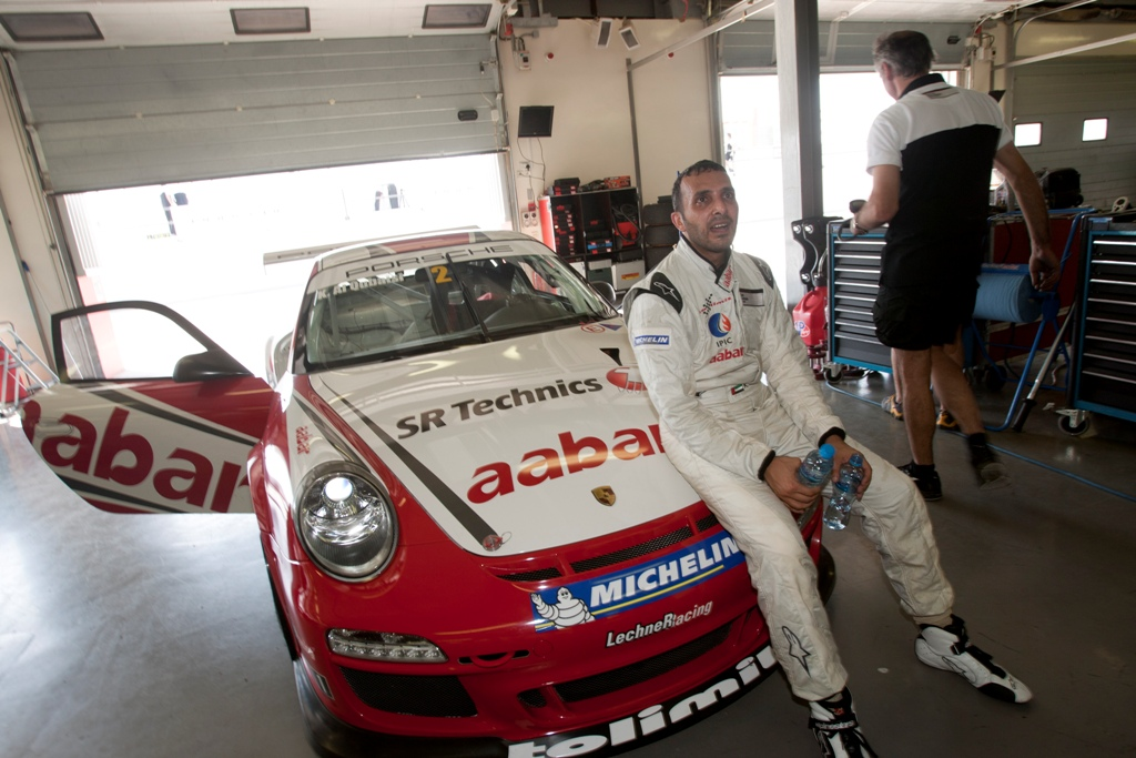 Porsche GT3: Al Qubaisi aims for flying start on Abu Dhabi F1 weekend