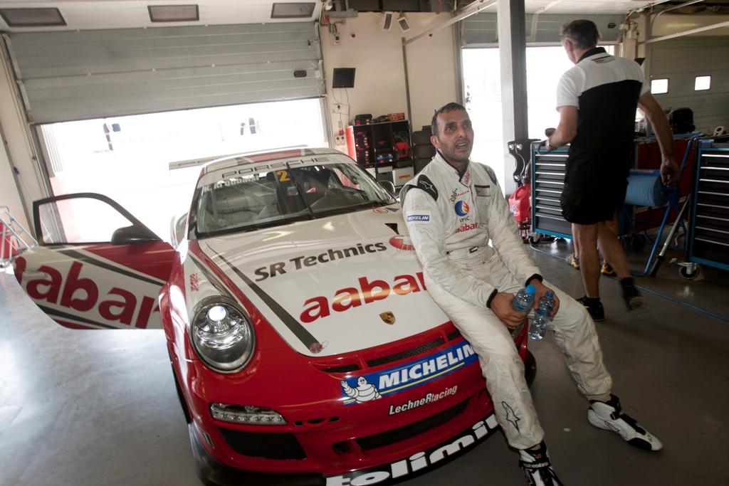 Porsche GT3: Al Qubaisi aims for flying start on Abu Dhabi F1 weekend