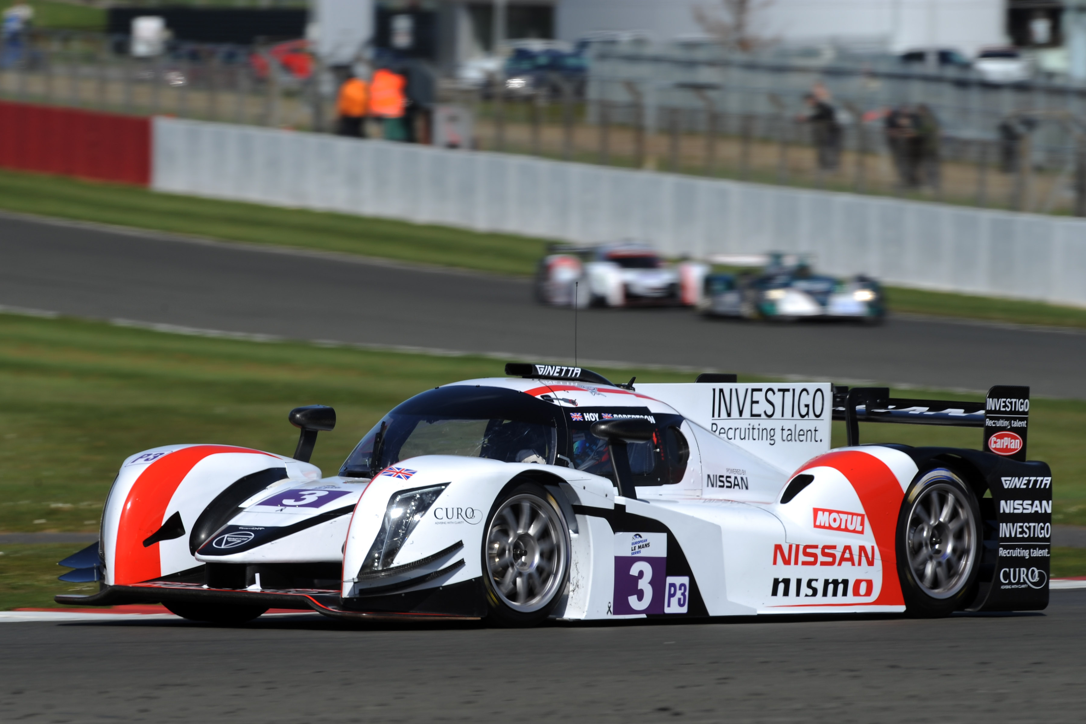 LMP3: Scots duo Sir Chris Hoy and Charlie Robertson strike gold for new Nissan LMP3