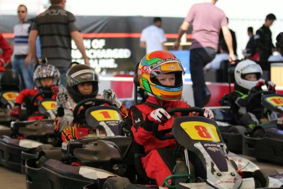 Dubai: 12year old Dubai schoolgirl Logan Hannah jets off to Le Mans for Sodi Junior karting world finals