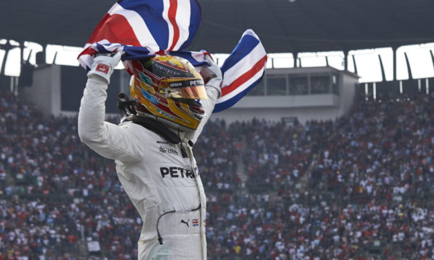 F1: Lewis Hamilton wins fourth World Championship title and seals the fourth consecutive Drivers' Championship for the Silver Arrows