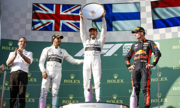 F1: Mercedes-AMG Petronas start the 2019 Formula One season with a 1-2 victory in Melbourne