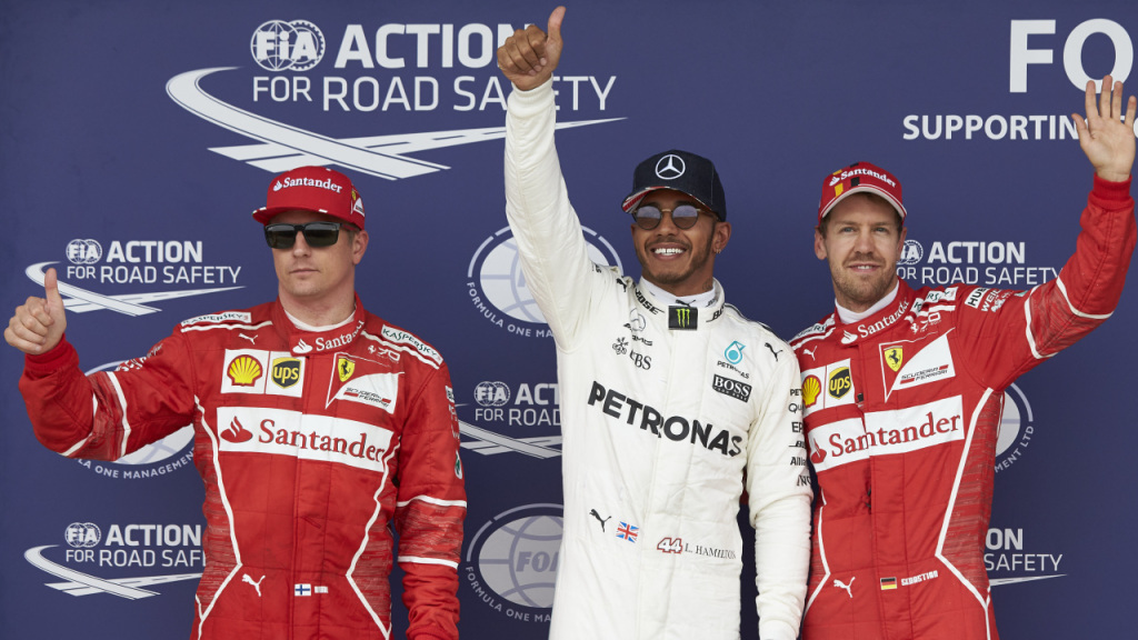 F1: Lewis storms to his fifth British Grand Prix pole at Silverstone