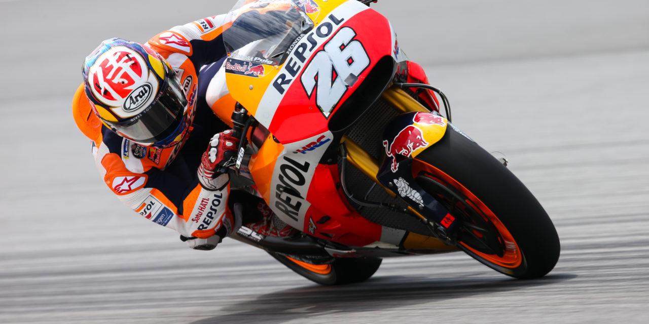 MotoGP: Pedrosa, Dovizioso, Lorenzo: the fastest three on Day 1 of testing in Sepang
