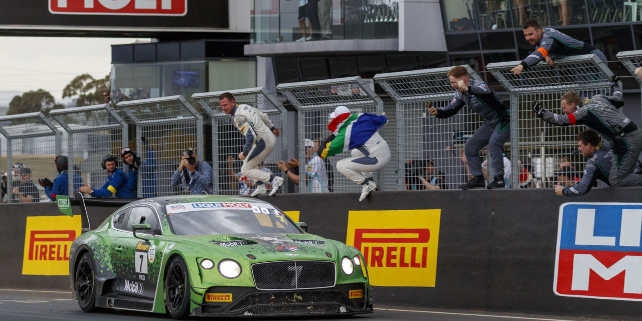 12H: Bentley finally claims victory at Bathurst 12H after five years of trying