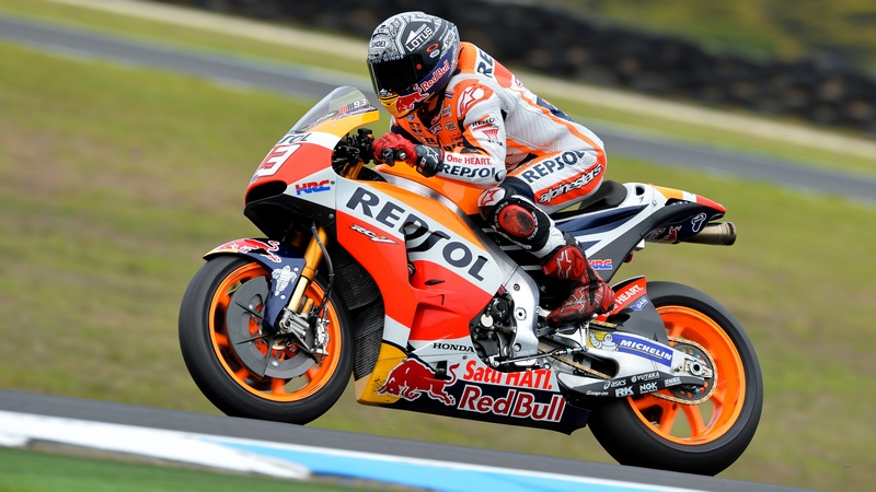 MotoGP: Phillip Island test ends with Marquez topping Friday times but Viñales holds top spot