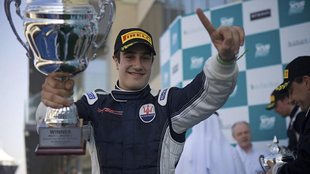 Maserati Trofeo: Ghanem scores a double win in round three at Yas Marina Circuit