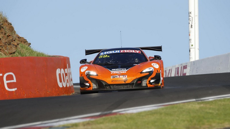 Bathurst 12h: Van Gisbergen concludes thrilling historic maiden victory for McLaren at Mount Panorama