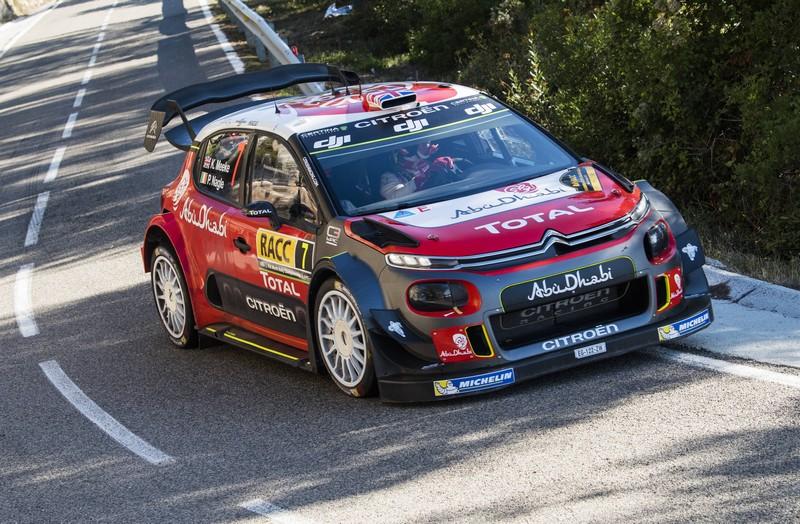WRC: Rally de España – Brit Meeke masters Catalunya in his Citroen C3