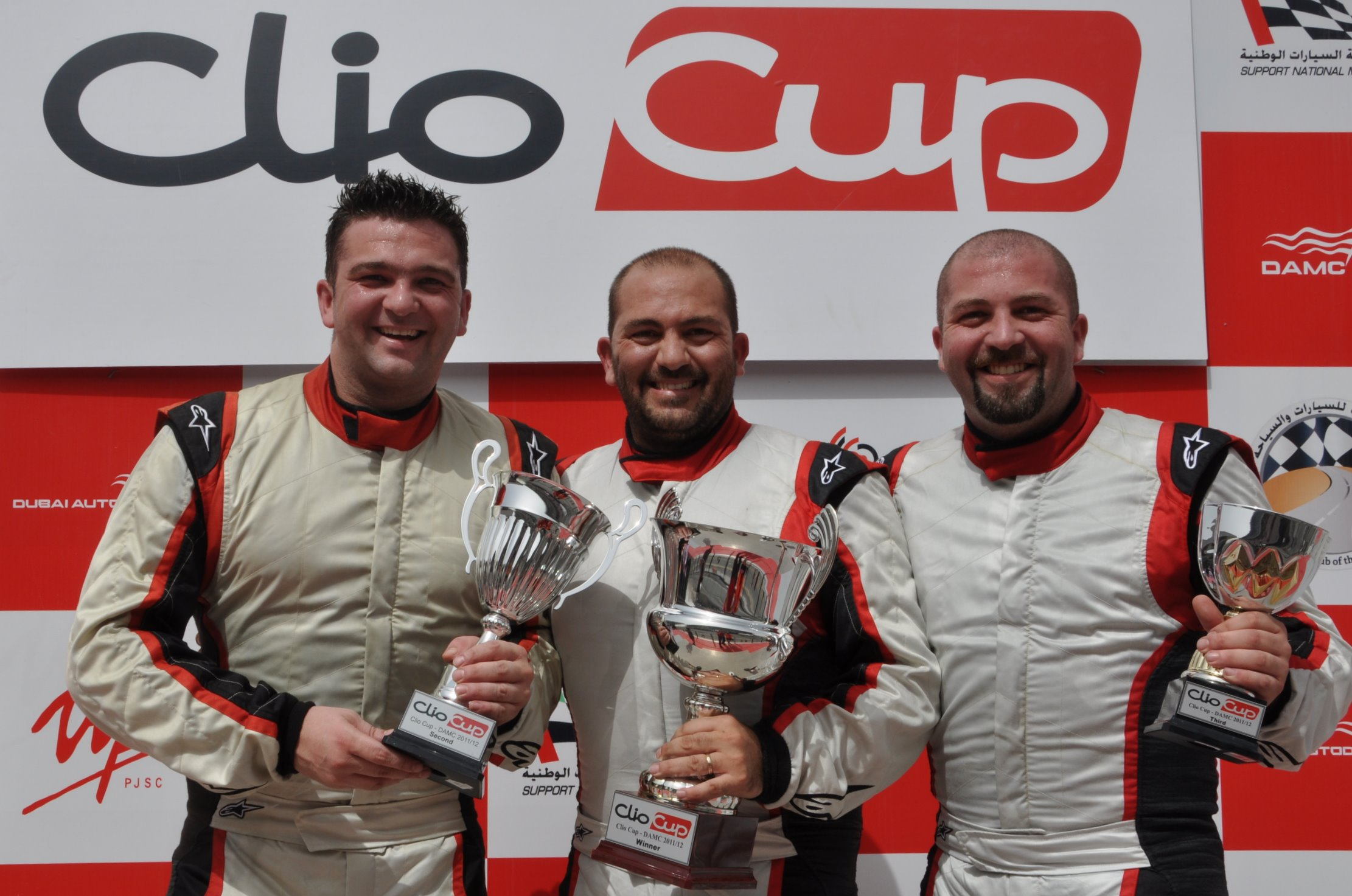 Total UAE Touring Cars: Doubles for Papantonis and Khan as Moutran brothers make history
