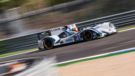 Jon Lancaster brought the no41 Gibson Nissan home in second place to claim the 2015 European Le Mans Series Team and Driver titles