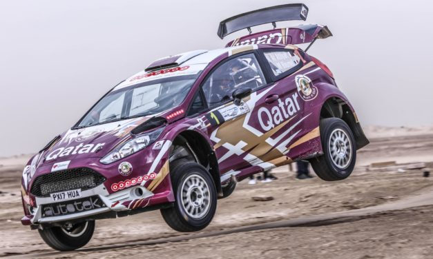 Rally: High rate of attrition but Al Attiyah survives carnage to maintain lead in Kuwait International Rally
