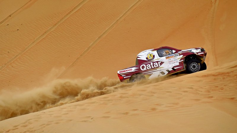 Rally: Al Attiyah increases Desert Challenge lead as Quintanilla edges classic bikes tussle