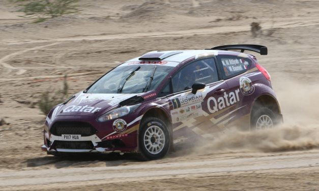 "Rally: Al Attiyah equals Ben Suleyem""s long standing record of 12 victories in the Jordan Rally"