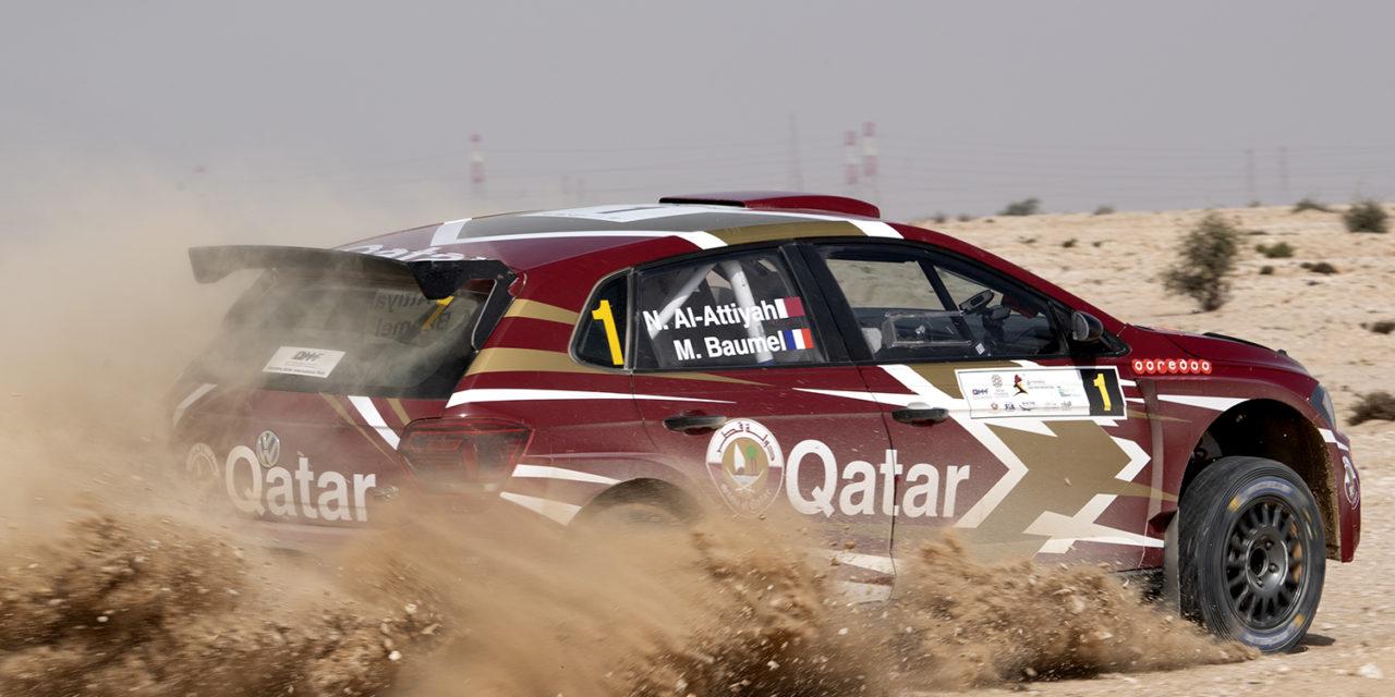 Qatar: Al Attiyah seals 14th Qatar Rally win and first regions success for VW Golf GTi R5