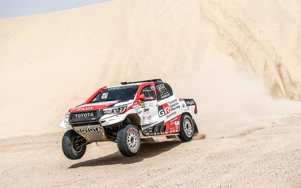 Rally: Al Attiyah extends his lead on second day of Manateq Qatar Cross Country Rally