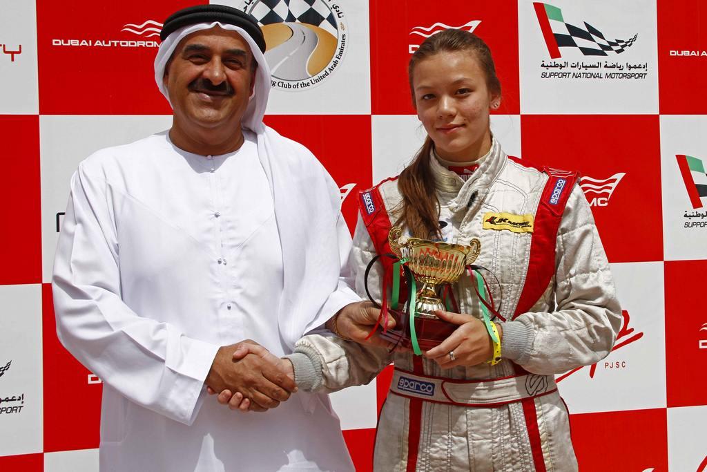 Formula Gulf: Girl power rocks the Autodrome with stellar maiden win for Natasha Seatter