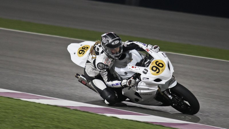 Qatar: Fast female Nina Prinz gets the pole position for Qatar Superbike
