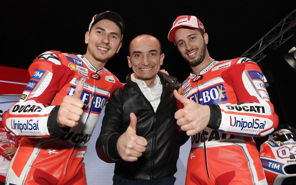 MotoGP: 2017 Ducati Team presented at Ducati Auditorium in Bologna