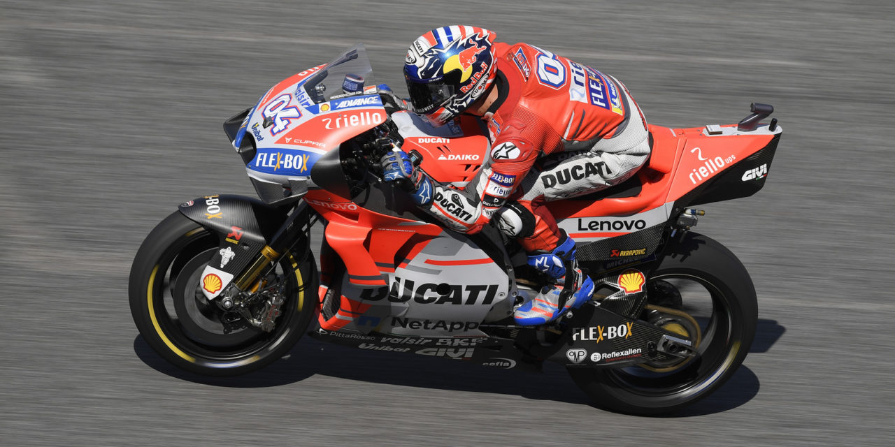 MotoGP: Top four split by a tenth in Thailand: Dovizioso leads Vinales on Day 1