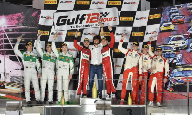 UAE: Hat-trick of victories for Kessel Racing in Gulf 12hr at Yas Marina Circuit