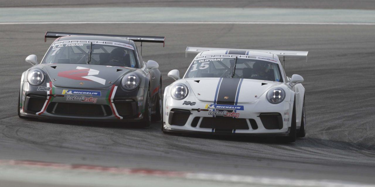 Dubai: Oliphant wins historic 100thrace of Porsche GT3 Cup Challenge Middle East at Dubai Autodrome