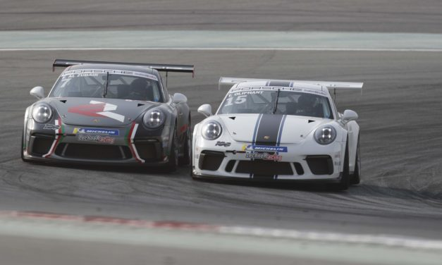 Dubai: Oliphant wins historic 100th race of Porsche GT3 Cup Challenge Middle East at Dubai Autodrome