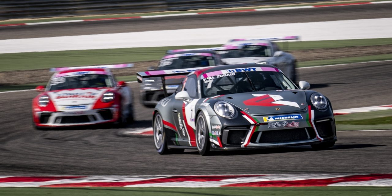 Bahrain: Omani driver Al Zubair continues to dominate Porsche BWT GT3 Cup Challenge Middle East