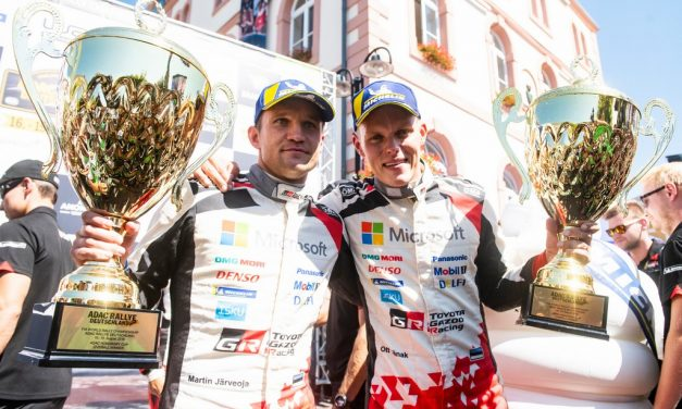 WRC: ADAC Rallye Deutschland – Ott Tanak takes his third win of the season in Germany