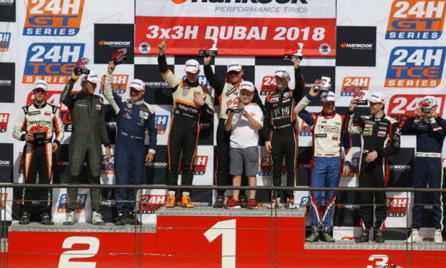 Dubai: Surprise last lap win for Simpson Motorsport at Hankook 3X3H DUBAI