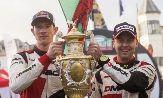 WRC: Welshman Evans wins in Wales Rally GB