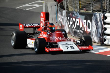 Jordan Grogor in the ISO Marlboro - Williams FW03