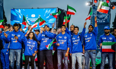 FIA: Kuwait team raises the flag high at the inaugural FIA Motorsport Games in Rome
