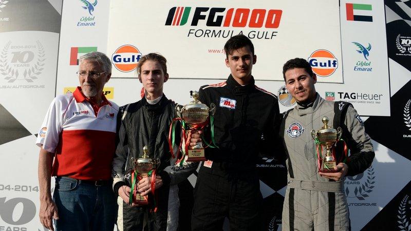Dubai: 16yr old Tejas Hirani takes stunning double Formula Gulf victory at Dubai Autodrome