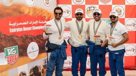 Polaris Racing Team UAE, winners of Rd 5 and the Team Title