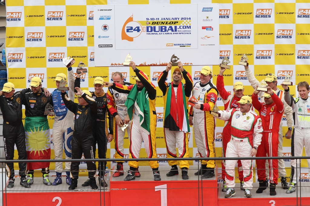 Dubai 24h: Kuwaiti ace Khaled Al Mudhaf wins Dubai 24hr with Dragon Racing Ferrari 458 GT3
