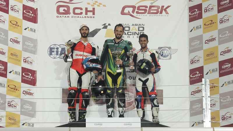 Losail: Abdulaziz Bin Laden takes double win in Qatar Supersport Championship