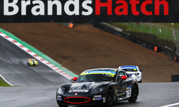 UK: Young Kuwait racer Haytham Qarajouli enjoys another top ten result at Brands Hatch season finale