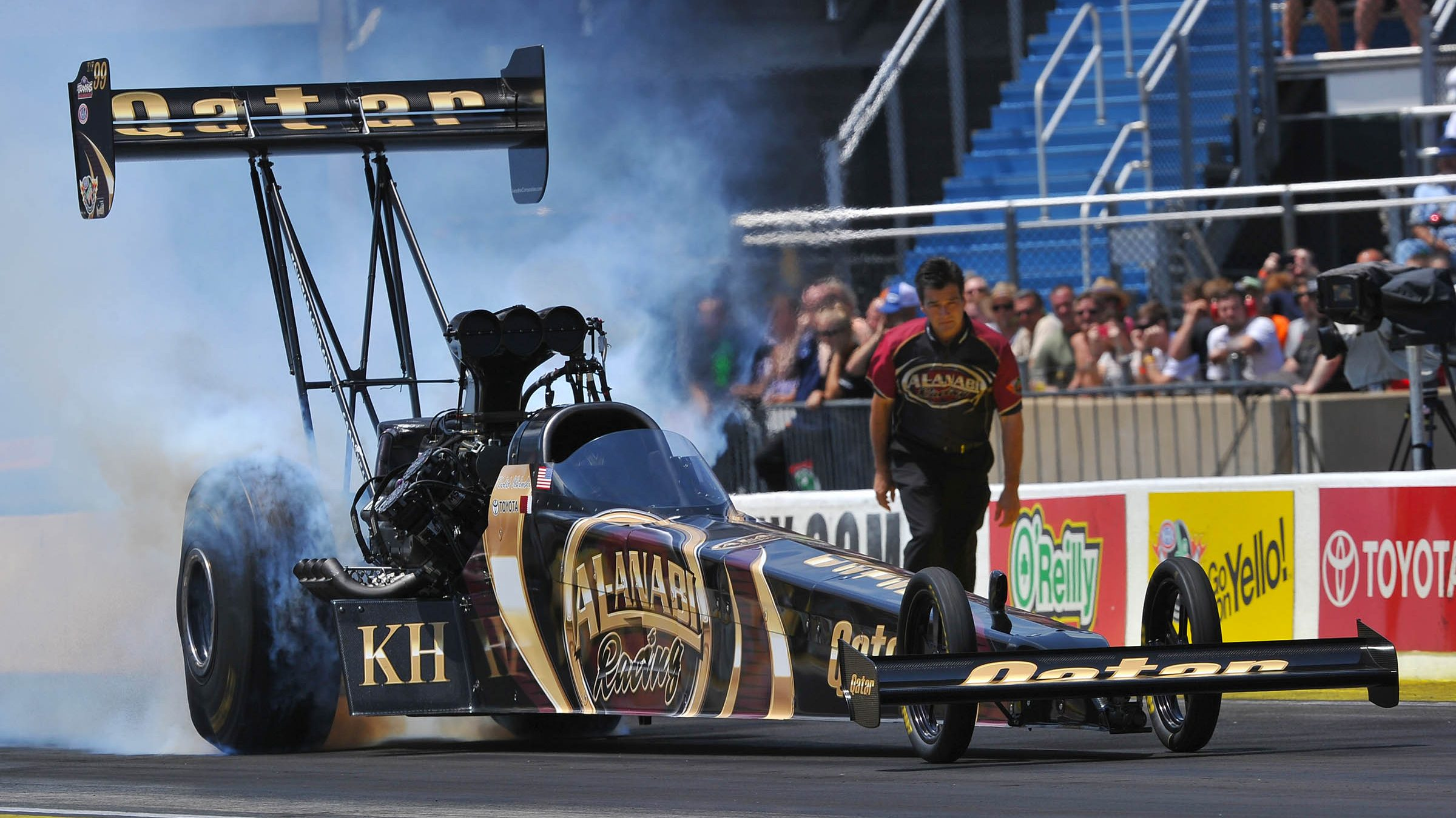 Drag: Qatar's Al Anabi Racing strong results at NHRA season halfway point