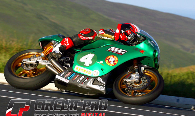 Isle of Man TT: Start to finish win for Michael Rutter in Lightweight race