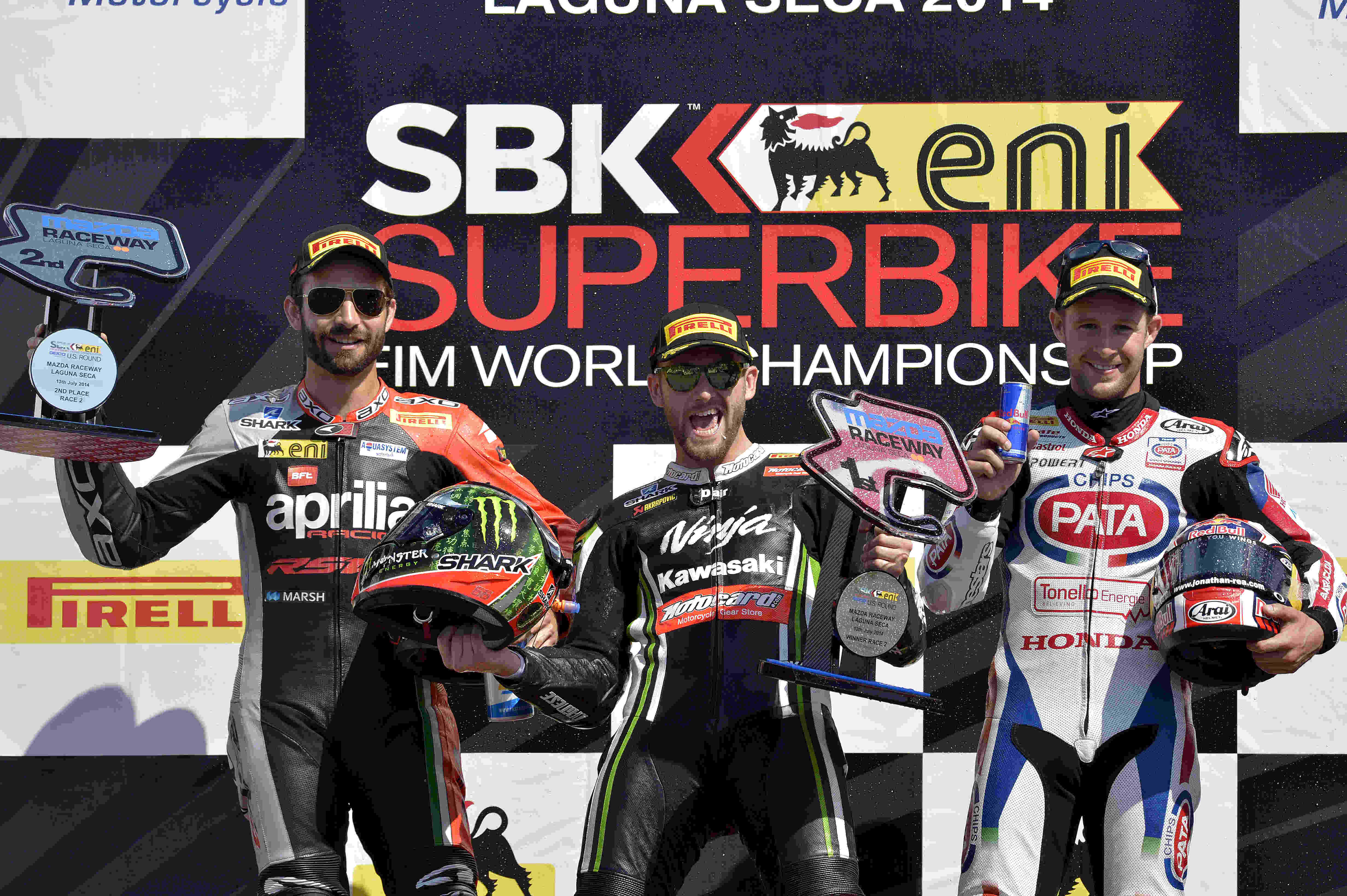 WSBK: Sykes maintains championship lead as he wins a hectic race two at Laguna Seca