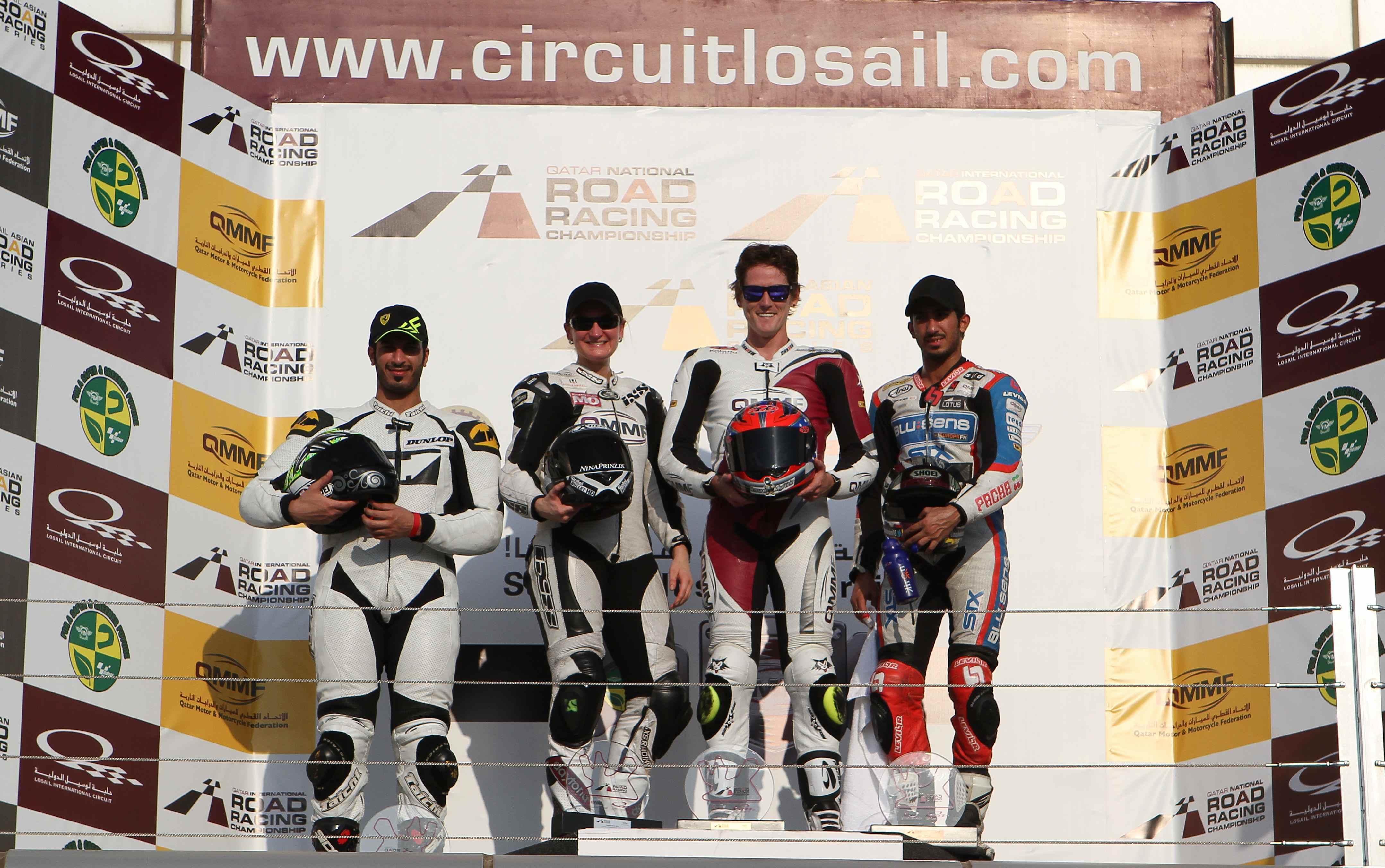 Qatar QIRRCH: Alex Cudlin unstoppable in the first round of Qatar International Road Racing